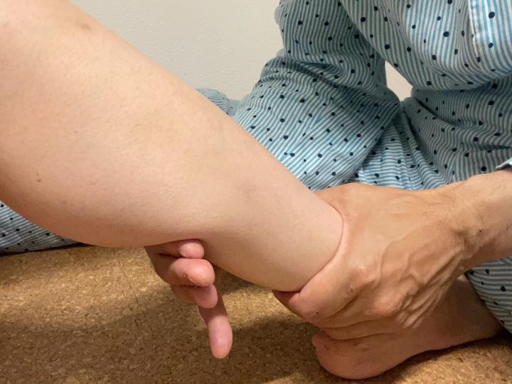 足がパンパンで泣くほど痛かった妻を救ったマッサージの極意