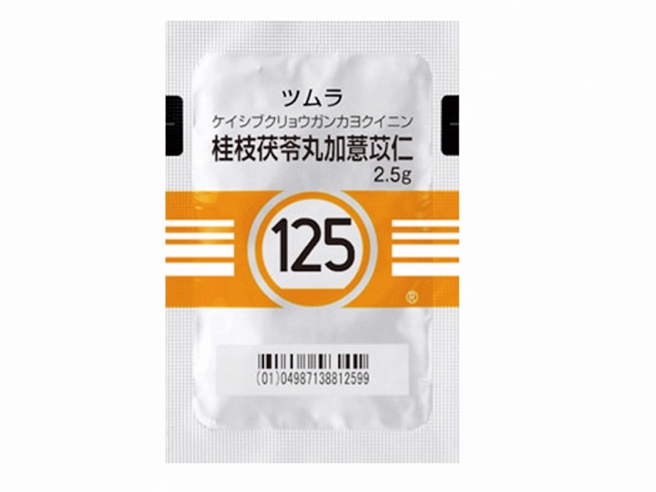皮膚科領域で用いられるヨクイニンを用いた漢方の処方で有名な桂枝茯苓丸加薏苡仁